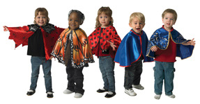 The Children's Factory Costumes Cape: Set of 5