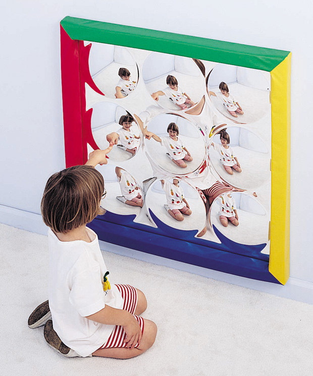 The Children's Factory Soft Frame Bubble Mirror