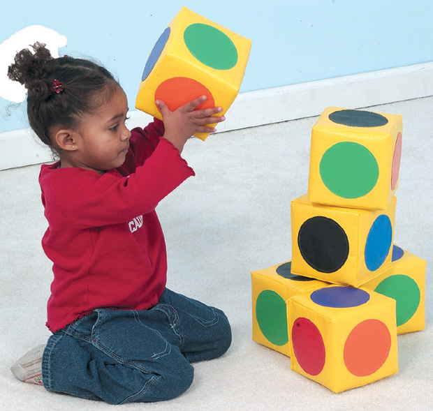 The Children's Factory Match the Dot Blocks