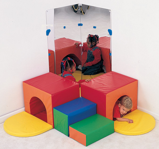 The Children's Factory Corner Tunnel Climber