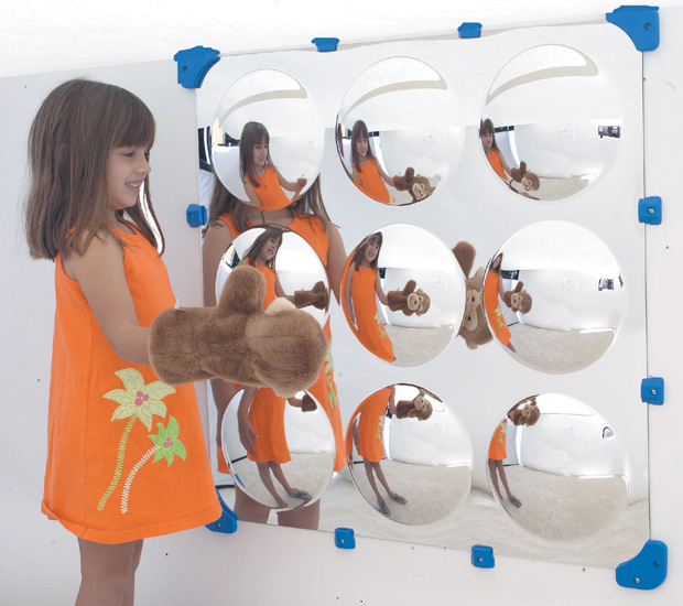 The Children's Factory 9 Bubble Maxi Mirror