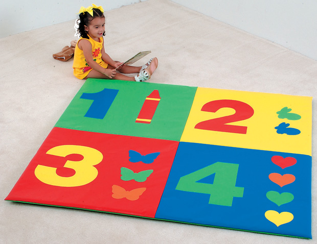 The Children's Factory 1-2-3-4 Mat