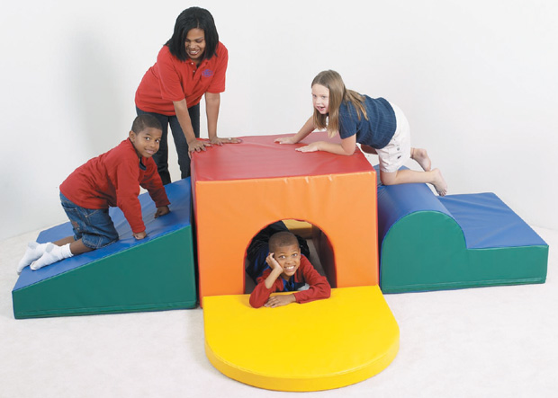 The Children's Factory School Age Tunnel Climber