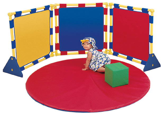 The Children's Factory 3 Square Playpanel Set