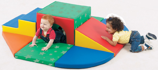 The Children's Factory Soft Tunnel Set