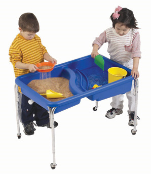 The Children's Factory Neptune Table and Lid Set: 18""