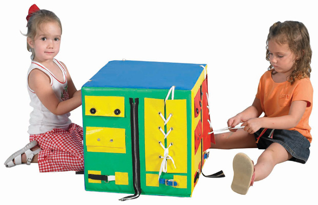 The Children's Factory Developmental Play Cube