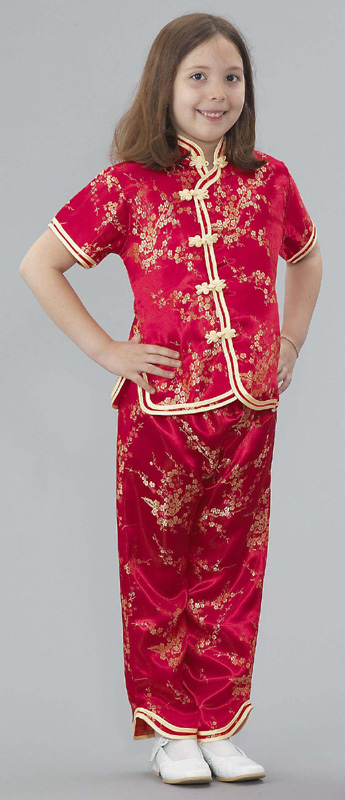 The Children's Factory Chinese Girl Costume