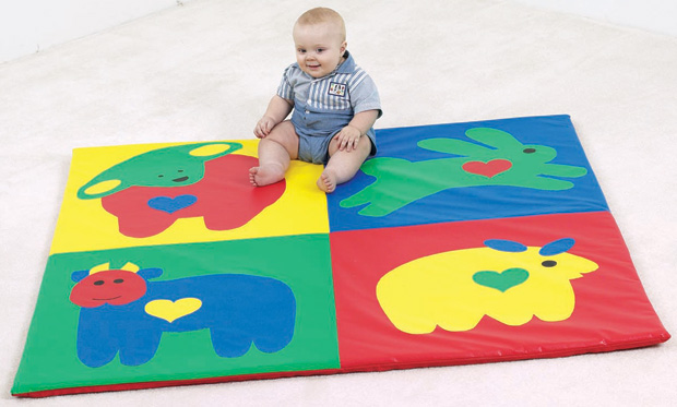 The Children's Factory Baby Love Activity Mat