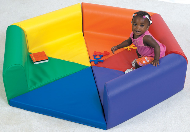 The Children's Factory Tiny Tot Hexi Pod