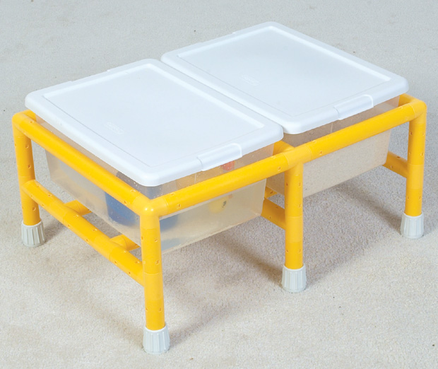 The Children's Factory Mini Double Discovery Table