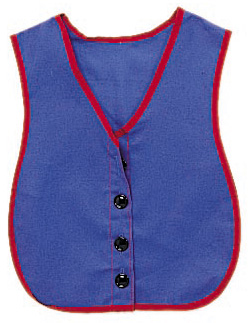 The Children's Factory Button Vest