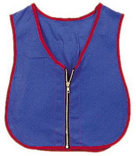 The Children's Factory Zipper Vest