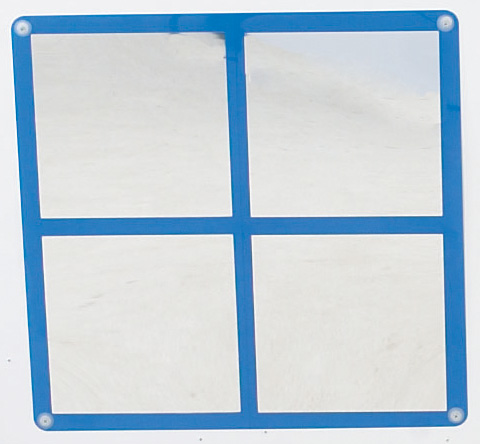 The Children's Factory Square Windowpane Mirror