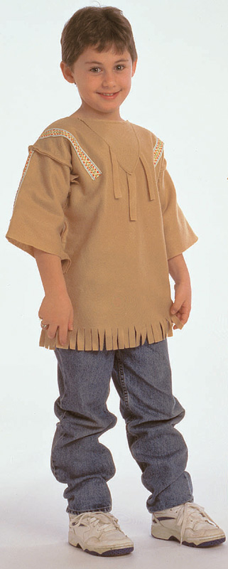 The Children's Factory Plains Indian Boy Costume