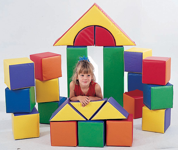 The Children's Factory 21-Piece Block Set
