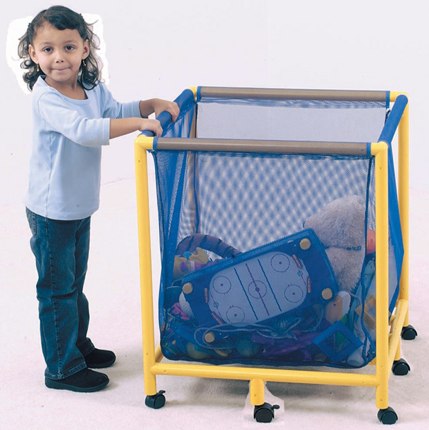 The Children's Factory Mobile Equipment/Toy Box: Square
