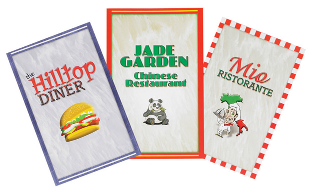 The Children's Factory Menus: Set of 3