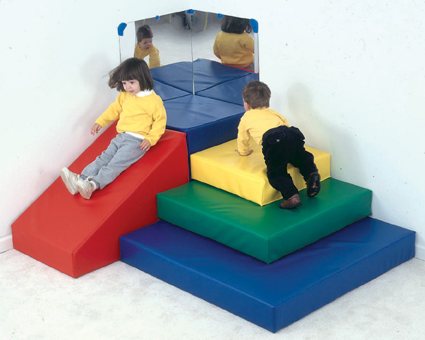 The Children's Factory Toddler Pyramid Play Center