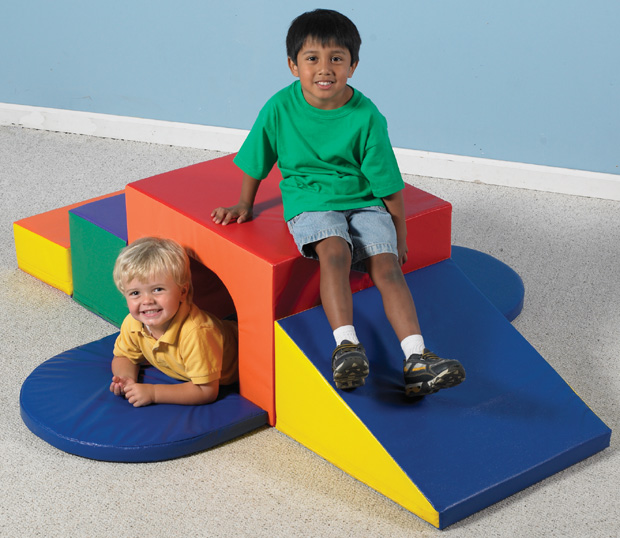 The Children's Factory Soft Tunnel Climber