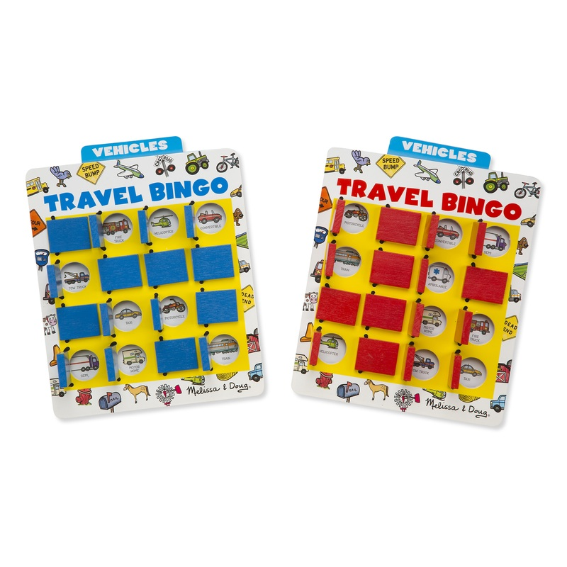 Travel Bingo Travel Game: 4+ Years