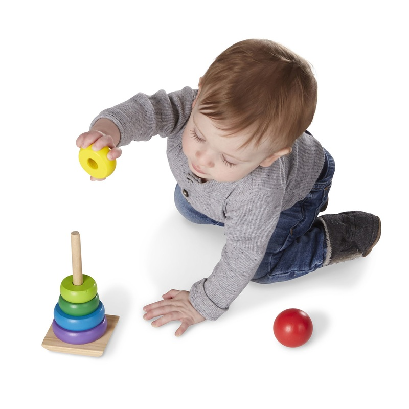 Rainbow Stacker Classic Toy: 18+ Months