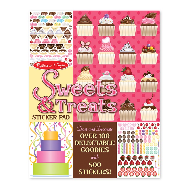 Sweets & Treats Stickers Pad: 4+ Years