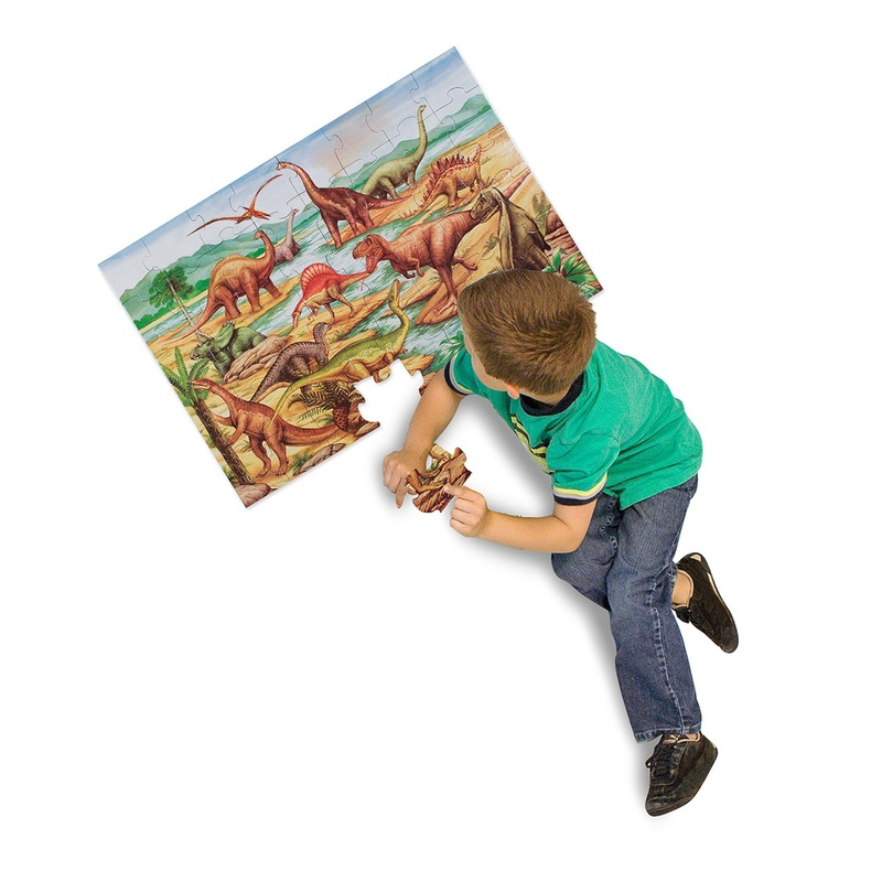 Dinosaurs Floor Puzzle: 48 Pieces, 3+ Years