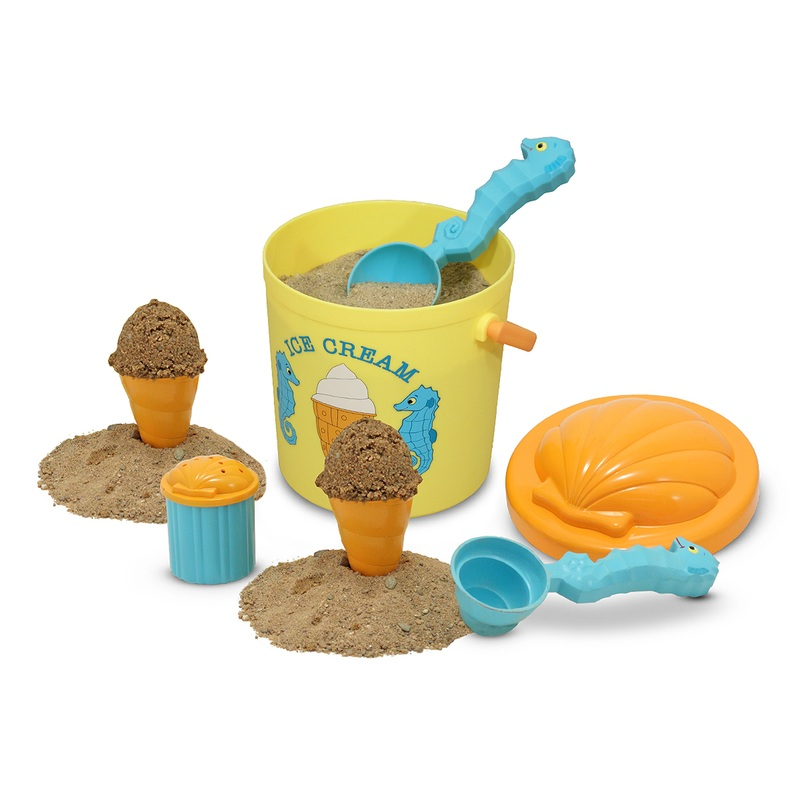 Speck Seahorse Sand Ice Cream Set: 3+ Years