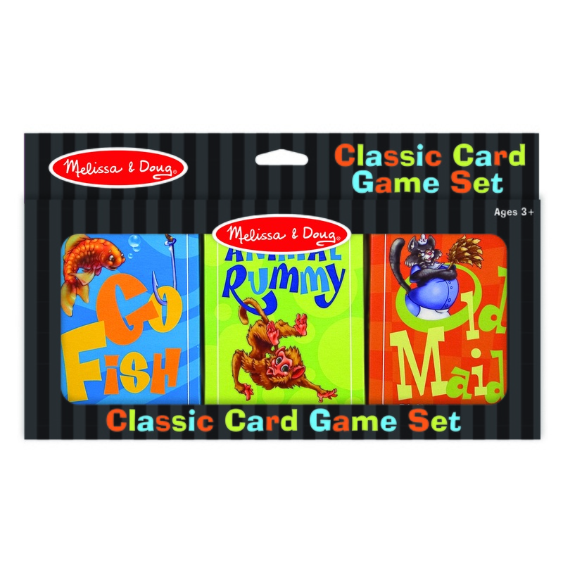 Classic Card Game Set: 3+ Years