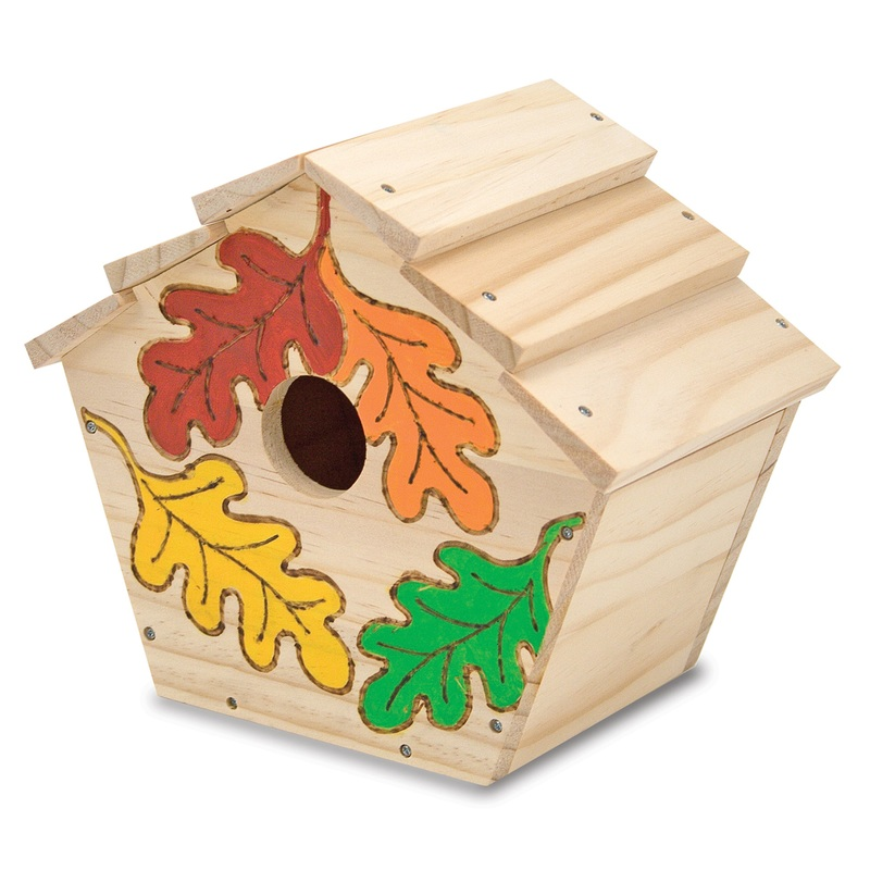 Build-Your-Own Wooden Birdhouse: 5+ Years