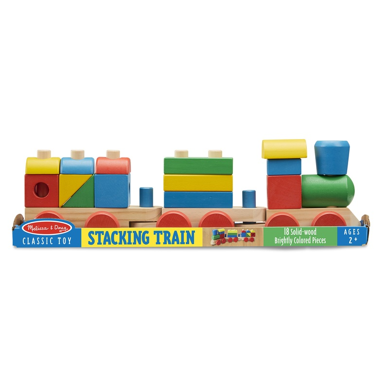 Stacking Train Toddler Toy: 2+ Years