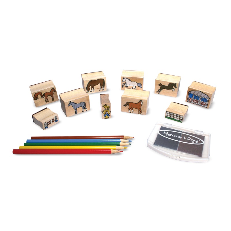 Horses Stamp Set: 4+ Years