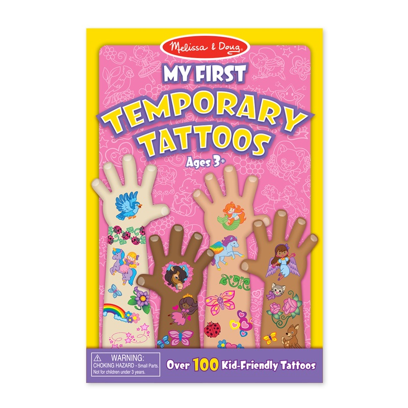 My First Temporary Tattoos: Pink, 3+ Years