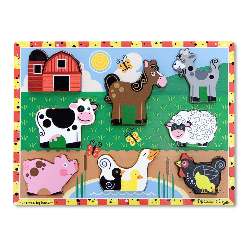 Farm Chunky Puzzle: 7 Pieces, 2+ Years