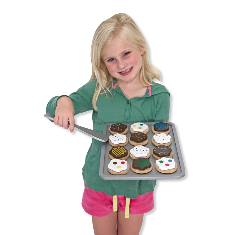 Slice and Bake Cookie Set - Wooden Play Food: 3+ Years