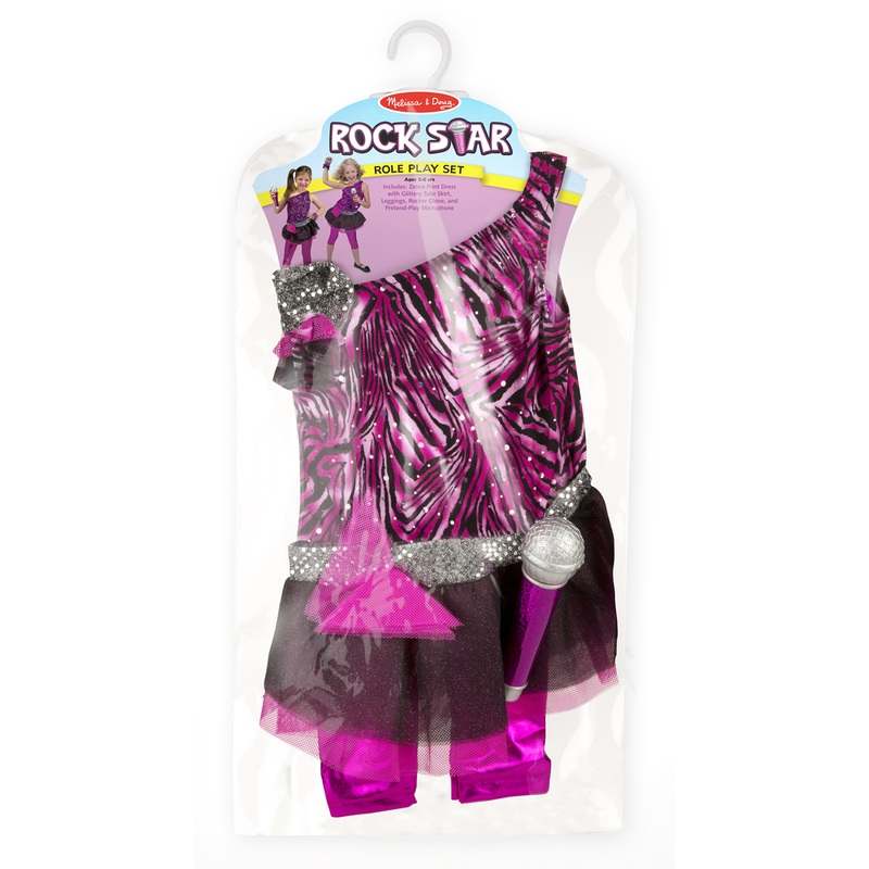 Rock Star Role Play Costume Set: 3 - 6 Years