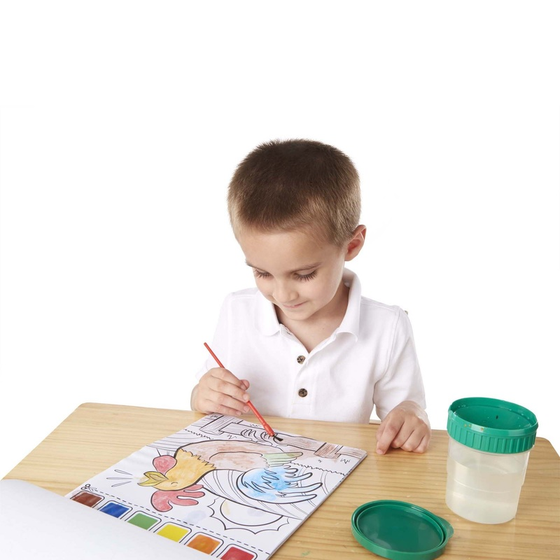 Farm Animals Paint with Water Kids' Art Pad: 3+ Years