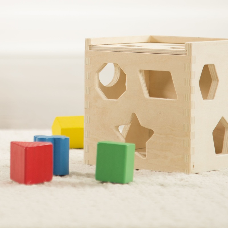 Shape Sorting Cube Classic Toy: 2+ Years