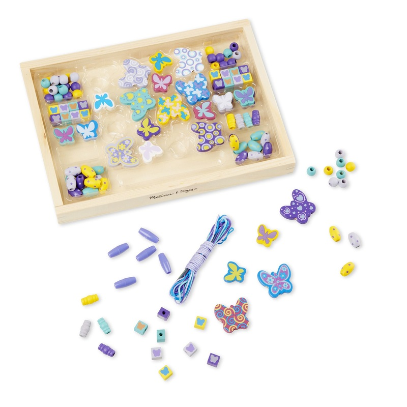 Butterfly Friends Bead Set: 4+ Years