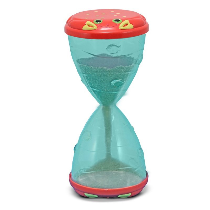 Clicker Crab Hourglass Sifter & Funnel: 2+ Years