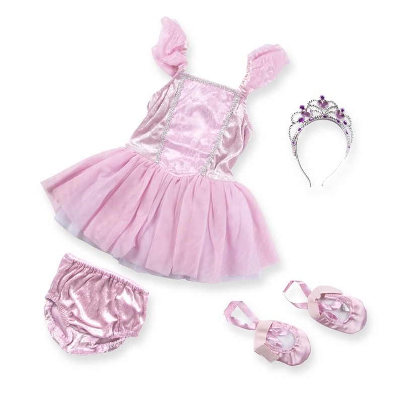 Ballerina Role Play Costume Set: 3 - 6 Years