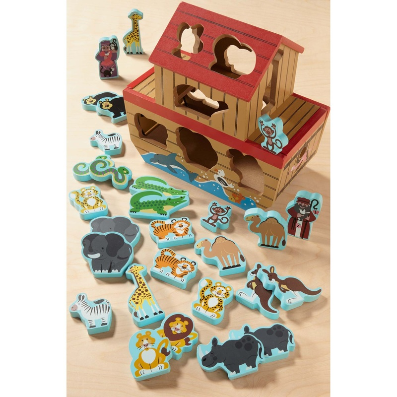 Noah's Ark Shape Sorter: 2+ Years