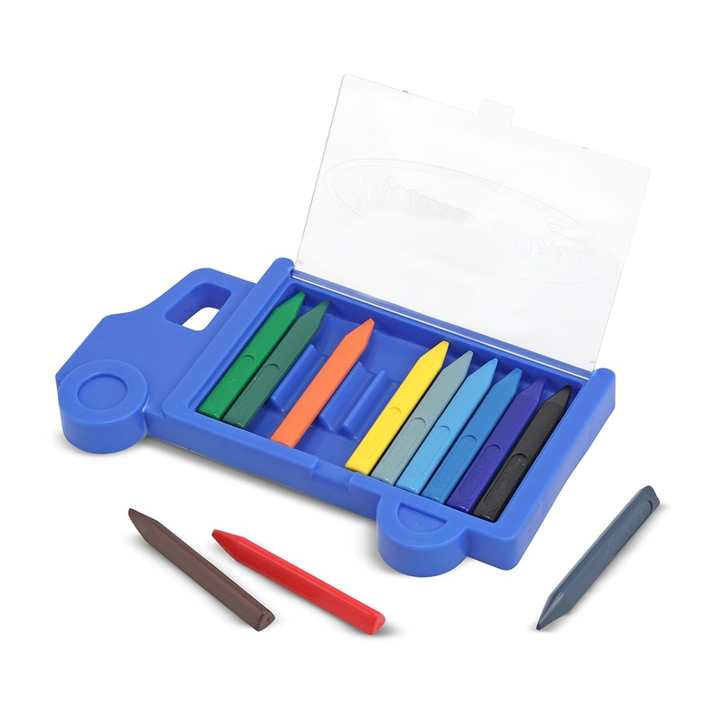 Truck Crayon Set: 3+ Years