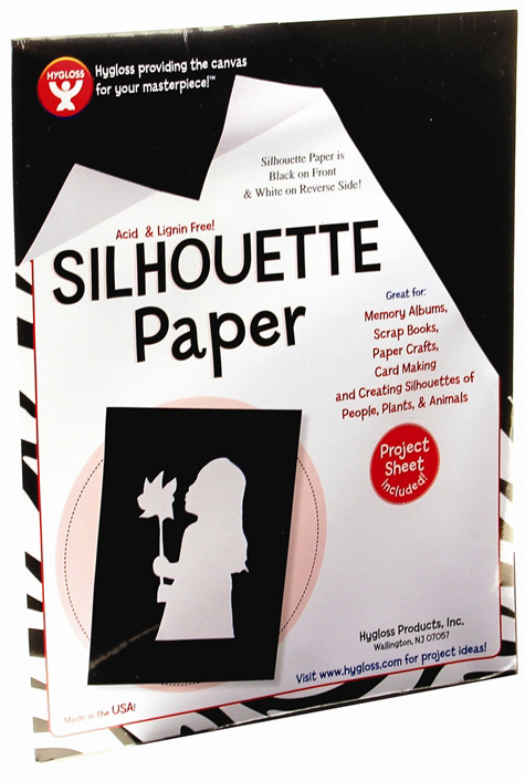 "Hygloss Silhouette Paper: 5"" x 8"", 1000 Sheets"