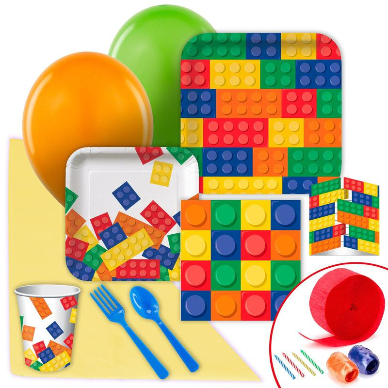Birthday Express Building Block Value Party Pack