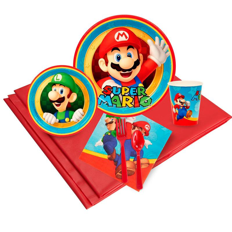 Birthday Express Super Mario Party Pack