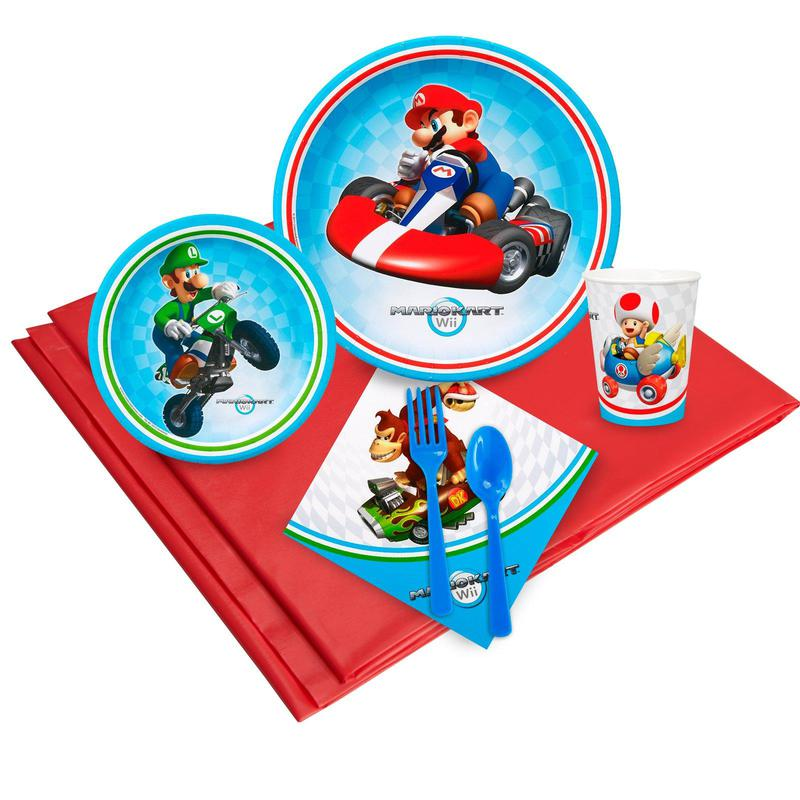 Birthday Express Mario Kart Wii Party Pack