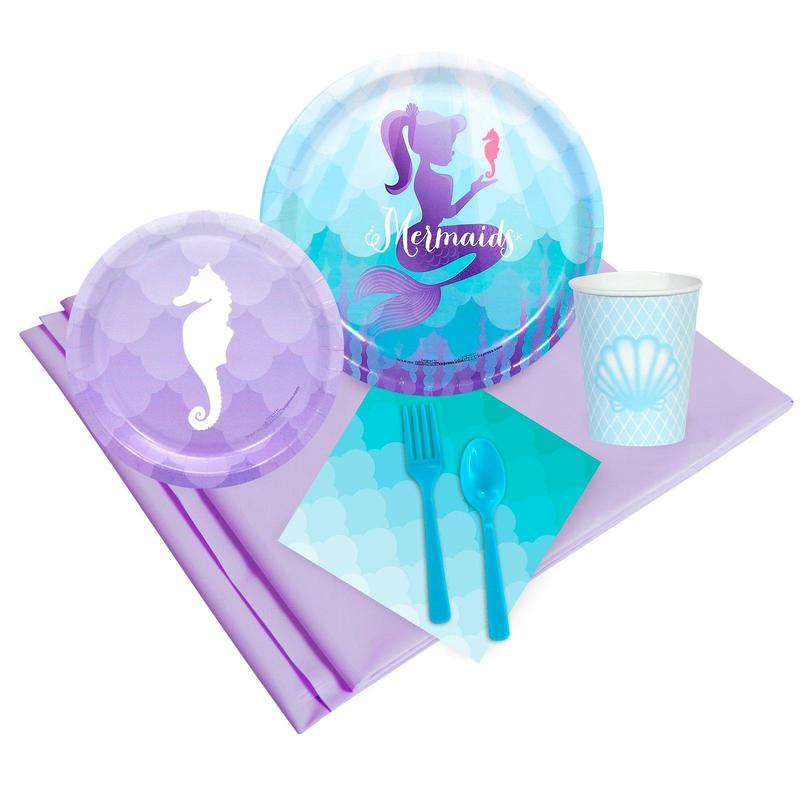 Birthday Express Mermaids Under the Sea Party Pack
