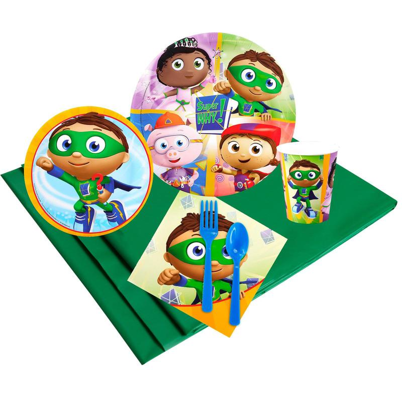 Birthday Express Super Why! Party Pack